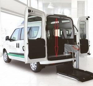 Fiat Doblo dla niepełnosprawnych