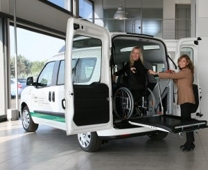 Fiat Doblo dla inwalidów