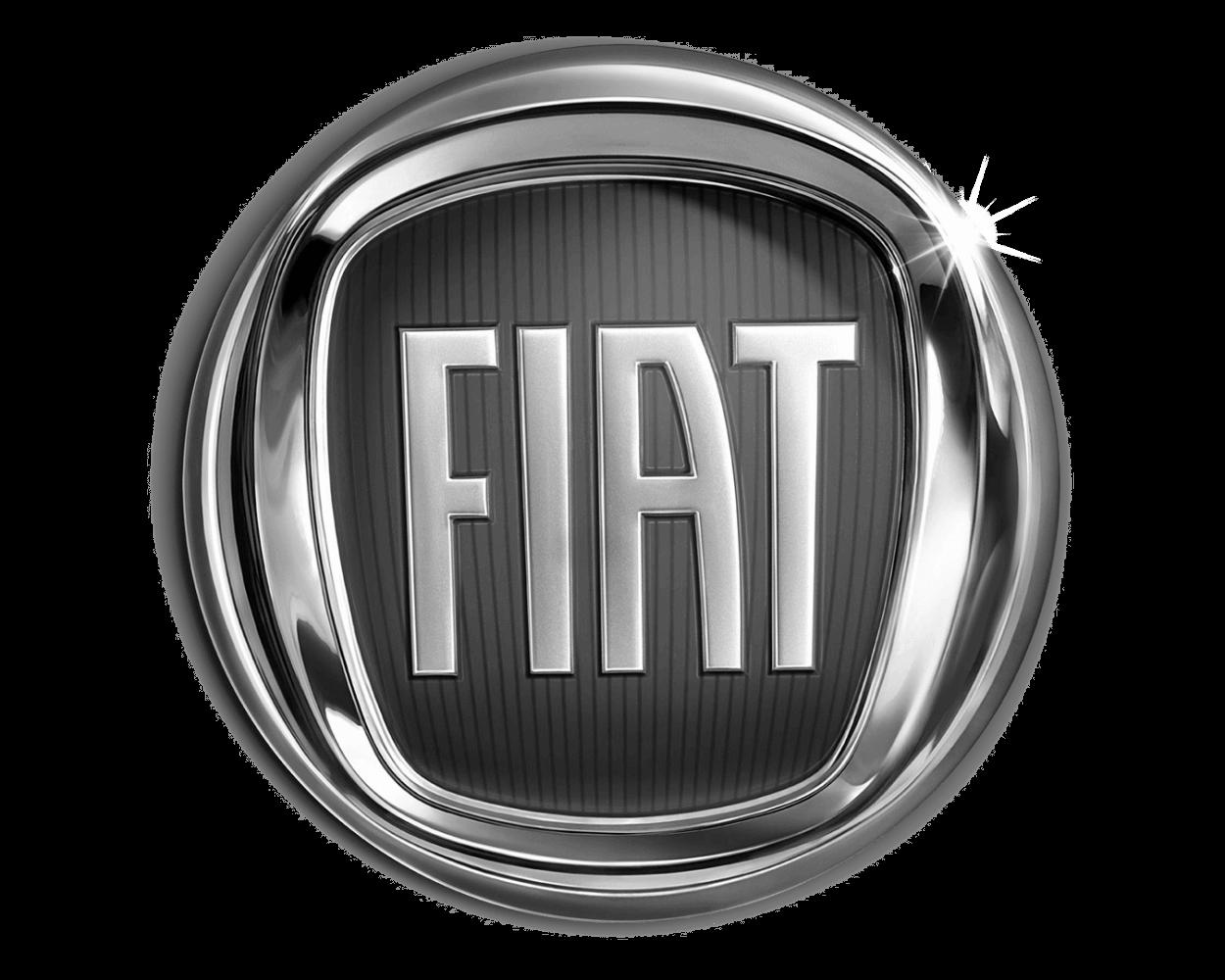logo fiat bw