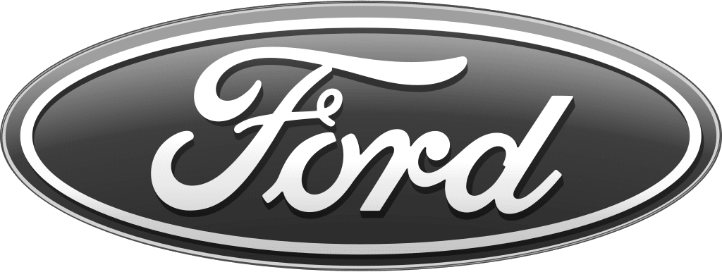 logo ford bw