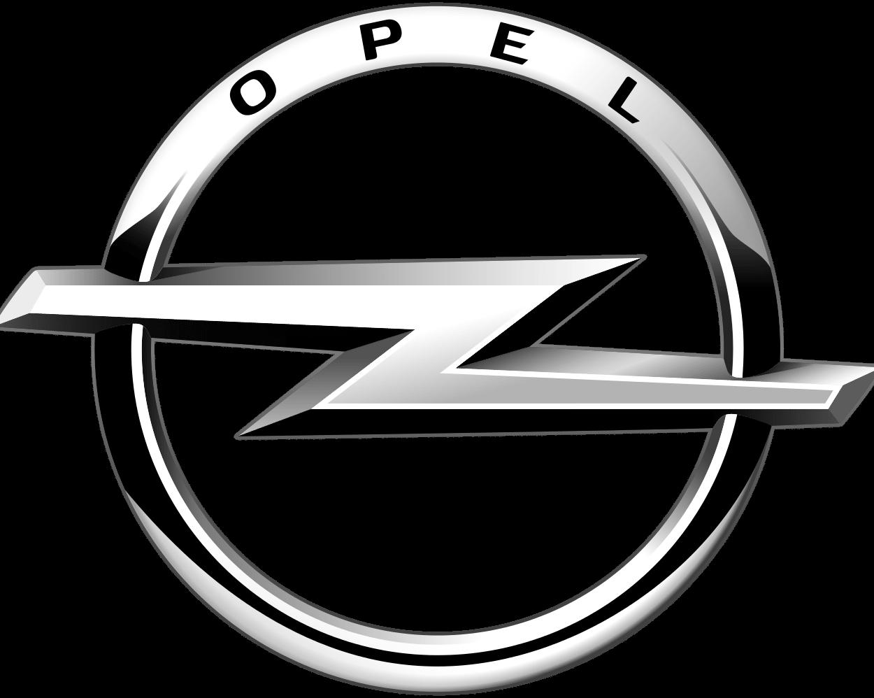 logo opel bw
