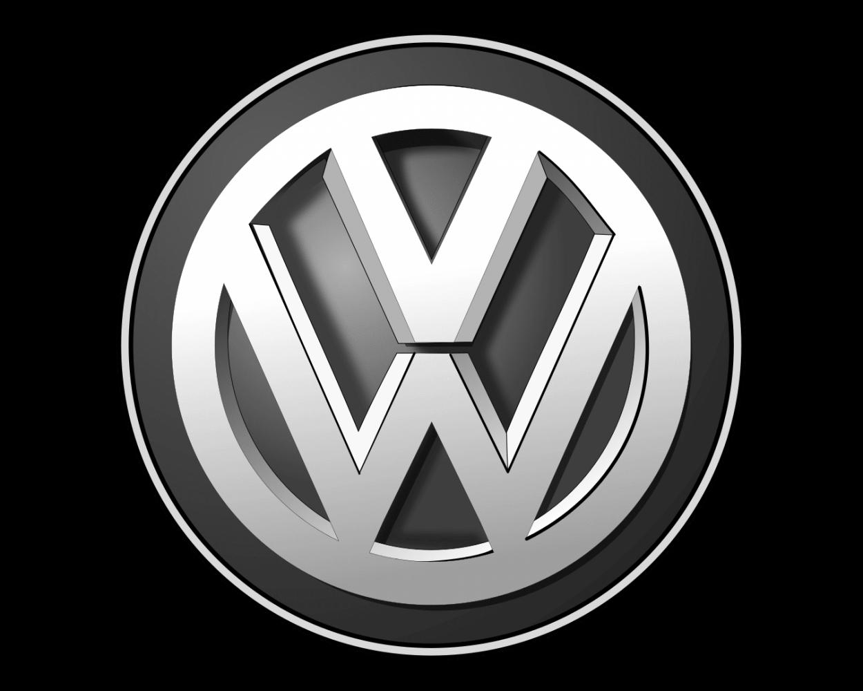 logo vw bw